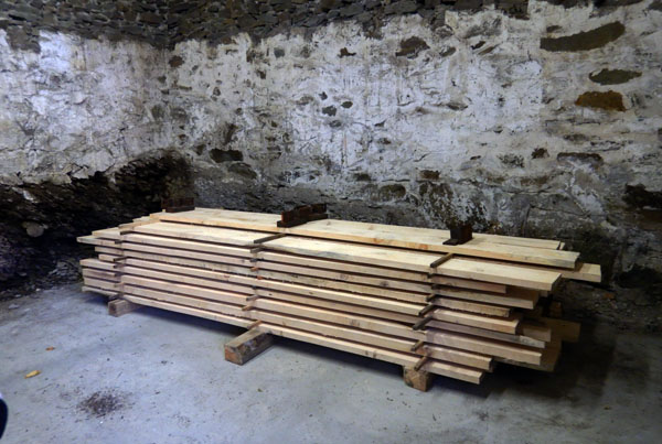 Wood for restoration